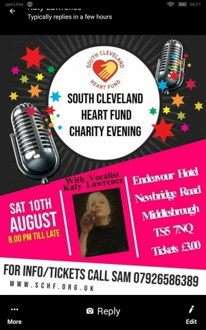 South Cleveland Heart Fund Charity Evening