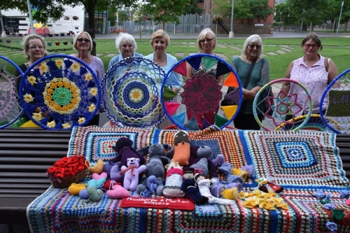 Mela Knitters Branching Out With New Art Works