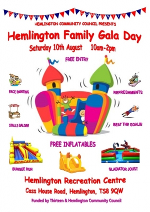 All Invited to Hemlington Family Gala Day