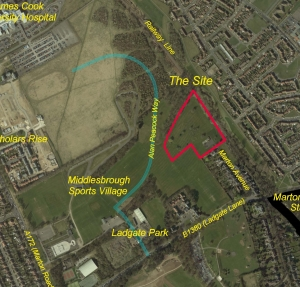 Views Sought on Marton Avenue Development Site