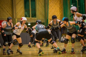 Roll into 2018 with Middlesbrough Roller Derby