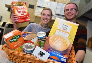 Carriageway Café in Christmas Foodbank Charity Drive