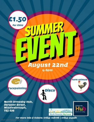 Family Summer Event at North Ormesby Hub