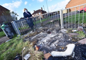 Councillor's Call Over Fly-Tip and Fireworks Menace