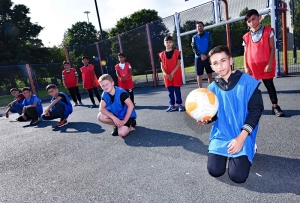 Dean Scores With Community Footie Sessions