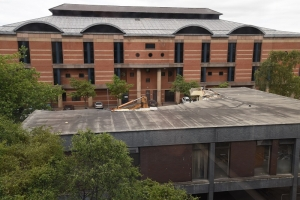 Register Office Coming Down as Regeneration Begins