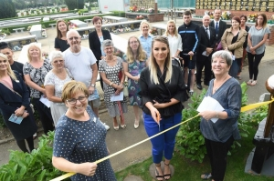 Baby Memorial Garden Opened at Teesside Crematorium