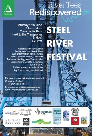 Steel River Festival - Saturday 15th June 2019 11am - 4pm